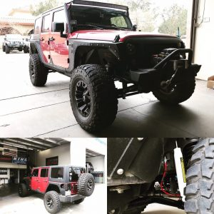 Alpha Off-road projects