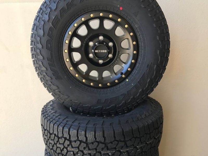 off road rim and tire packages